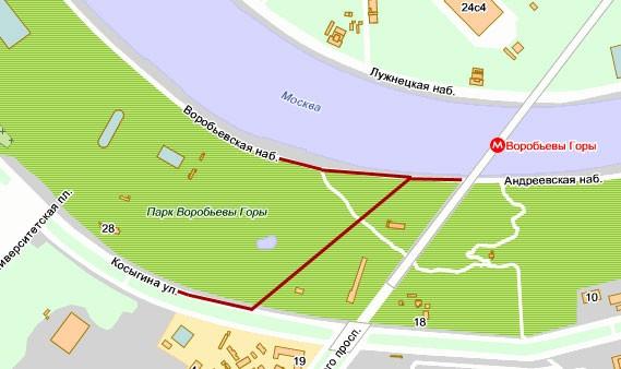ленинский проспект метро схема.