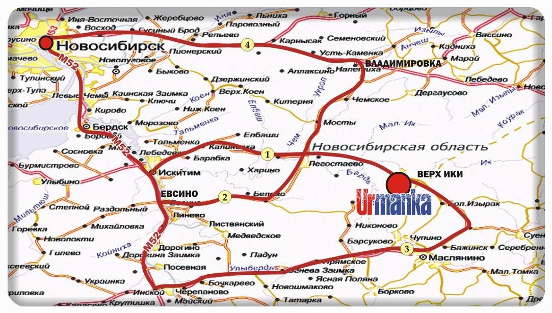 Схема проезда новосибирск белокуриха