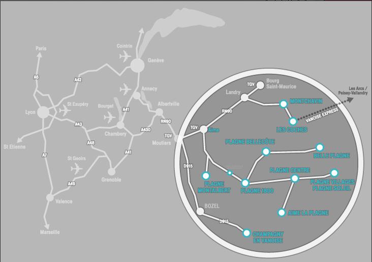 Схема региона