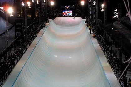 Сочи. Лыжного хаф-пайпа в феврале не будет.