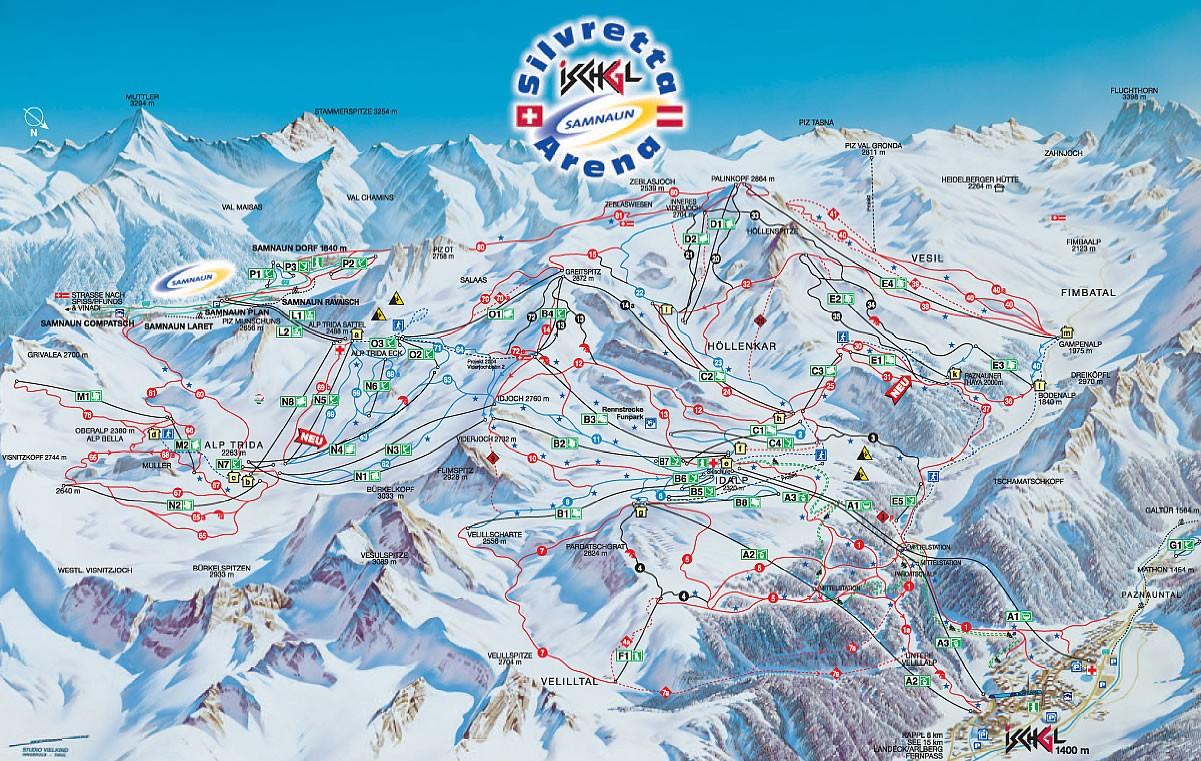 ...так и для сноубордистов, что обеспечивает высококлассное катание более чем на 200 км горнолыжных трасс.