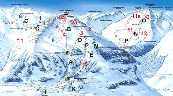 Сложные трассы - 6 км. Общая протяженность трасс - 55 км. Трассы для начинающих - 9 км. Лыжный сезон...