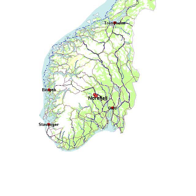 Ближайшие аэропорты — Осло