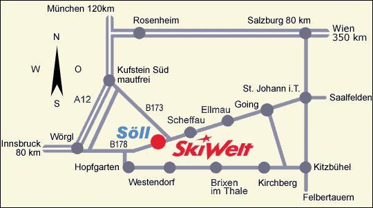 Мюнхен.  Ближайшие аэропорты - Инсбрук (70 км), Зальцбург (100 км). Как добраться.