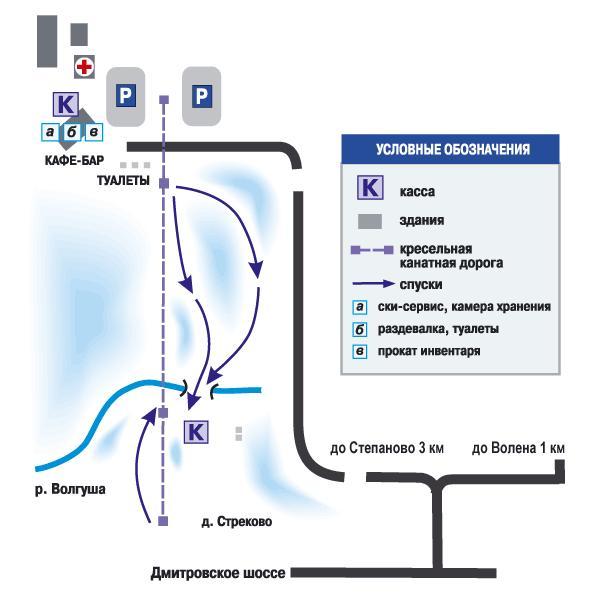 Схема комплекса Степаново