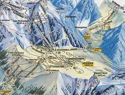 Вербье.  Майен де Рид относительно молодой курорт, расположенный в горах между Martigny и Sion на расстоянии 13 км от...
