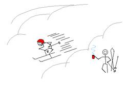 Если катание скучное, лучше отвлечься от лыж