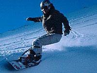 Сноубордическая стойка
