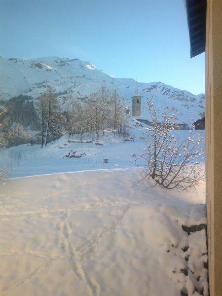 Вид с балкона резиденции Le Grand Ski
