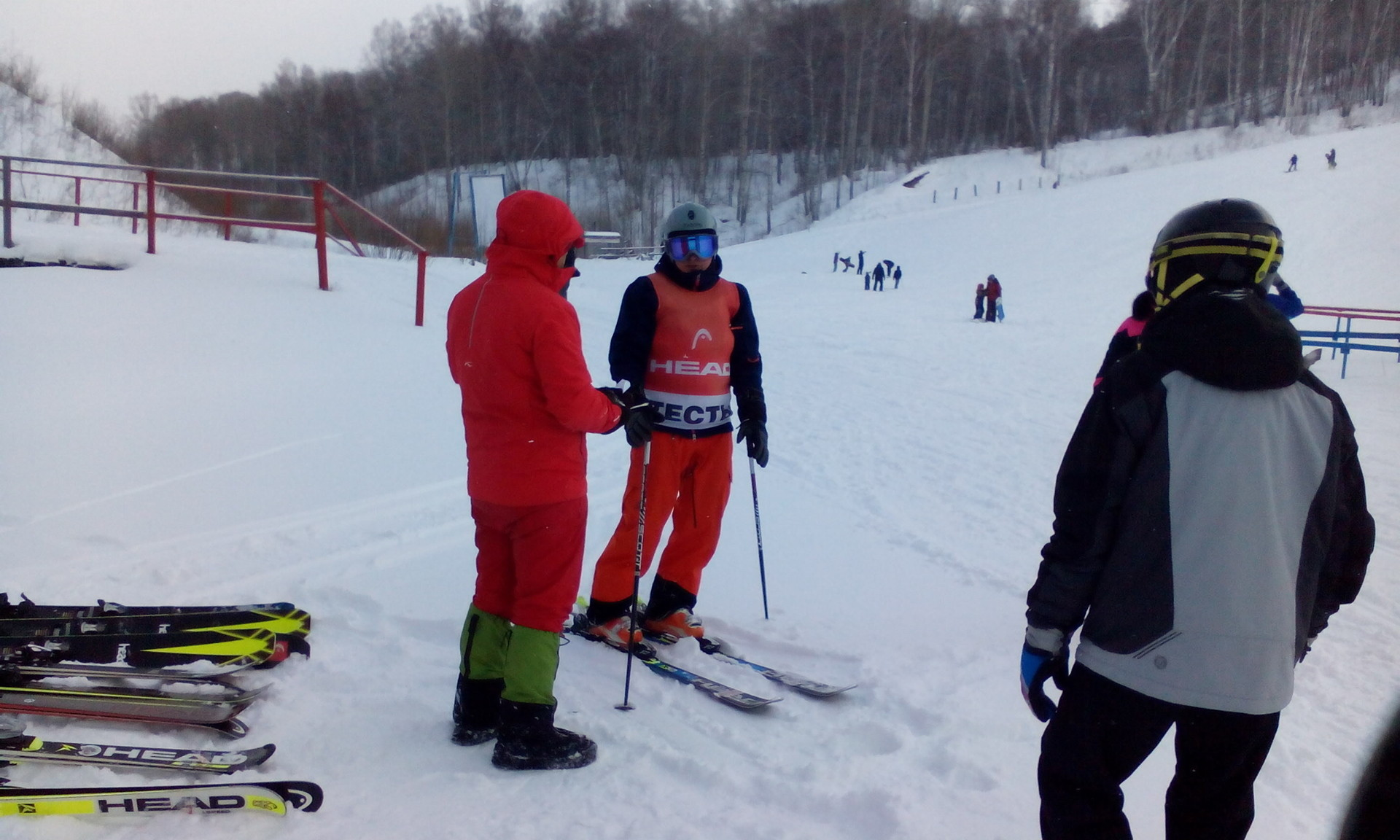 Лыжи из разных пар