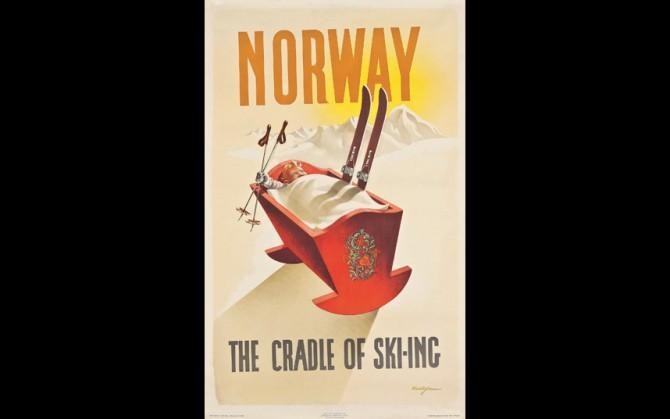 Норвегия - колыбель лыжного спорта