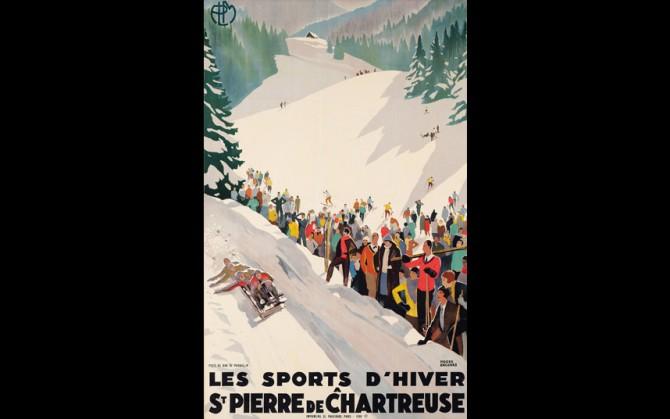 Зимние виды спорта в Сен-Пьер-де-Шартрёз