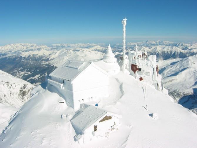 Обсерватория на вершине Зонблик