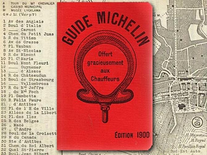 Путеводитель Мишлен 1900 года