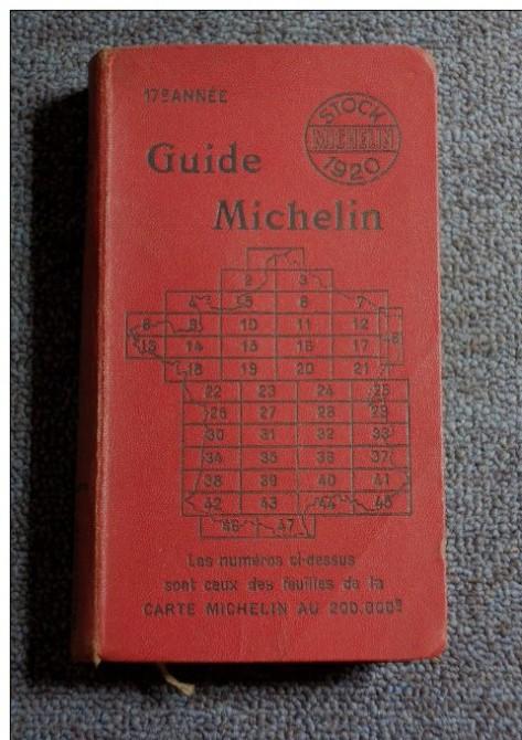 Путеводитель Мишлен 1920 года
