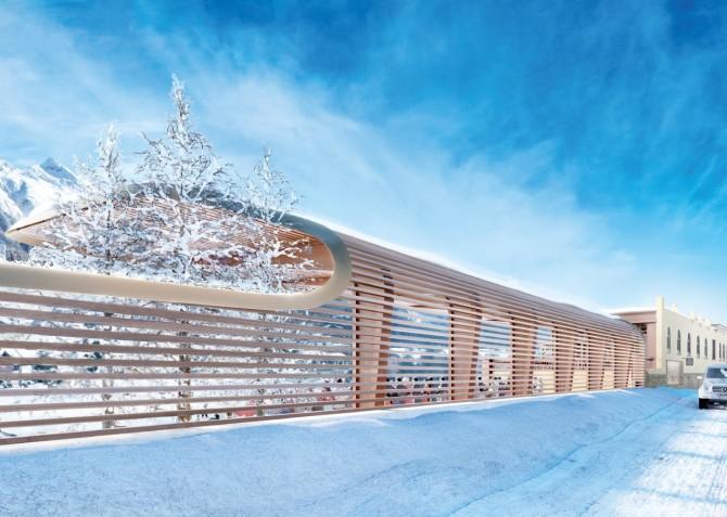 Проект ледового центра
