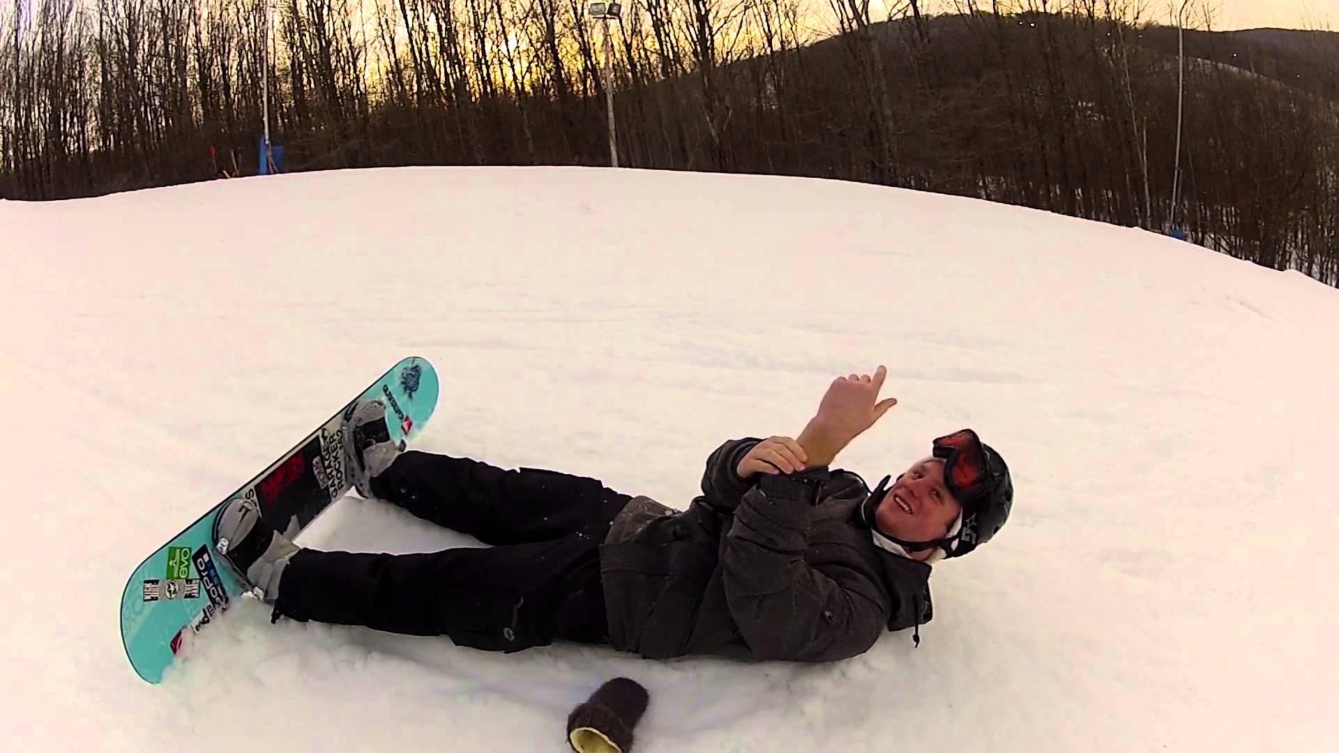 как делают фото на сноуборде