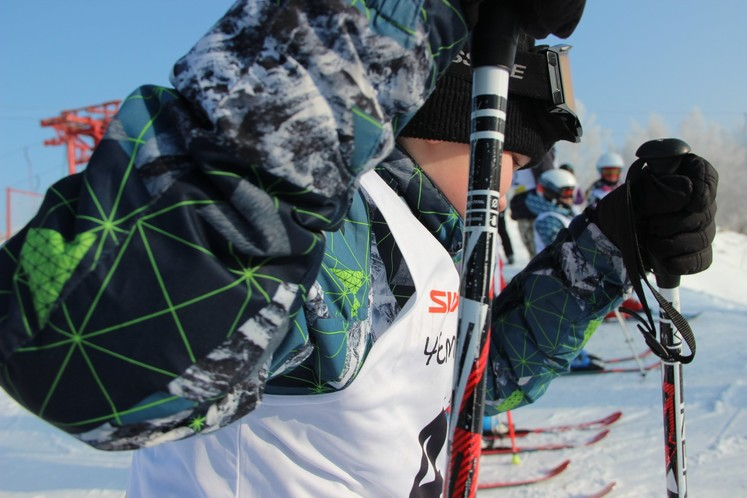 Сибирским горнолыжникам мороз не помеха