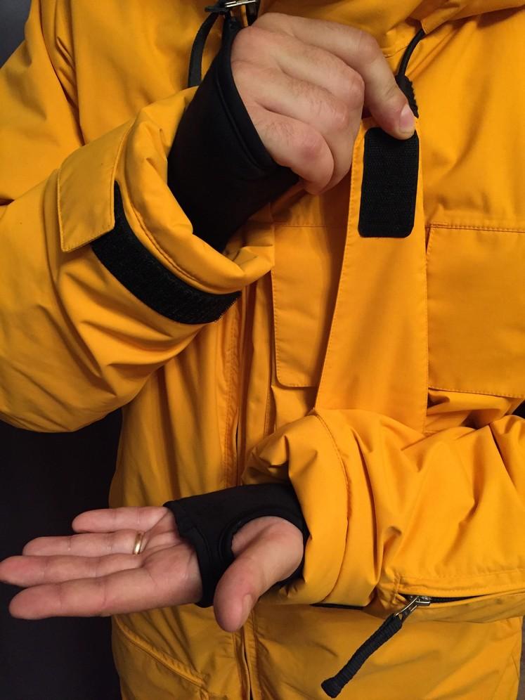 Манжеты на рукавах