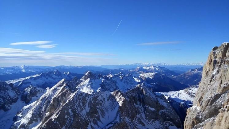 Доломитовые Альпы, вершина Мармолада (3342 м.)