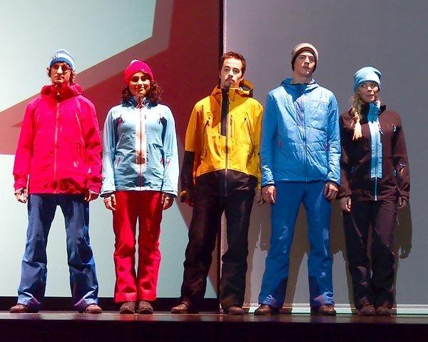 На шоу одежды Atomic в Зальцбурге