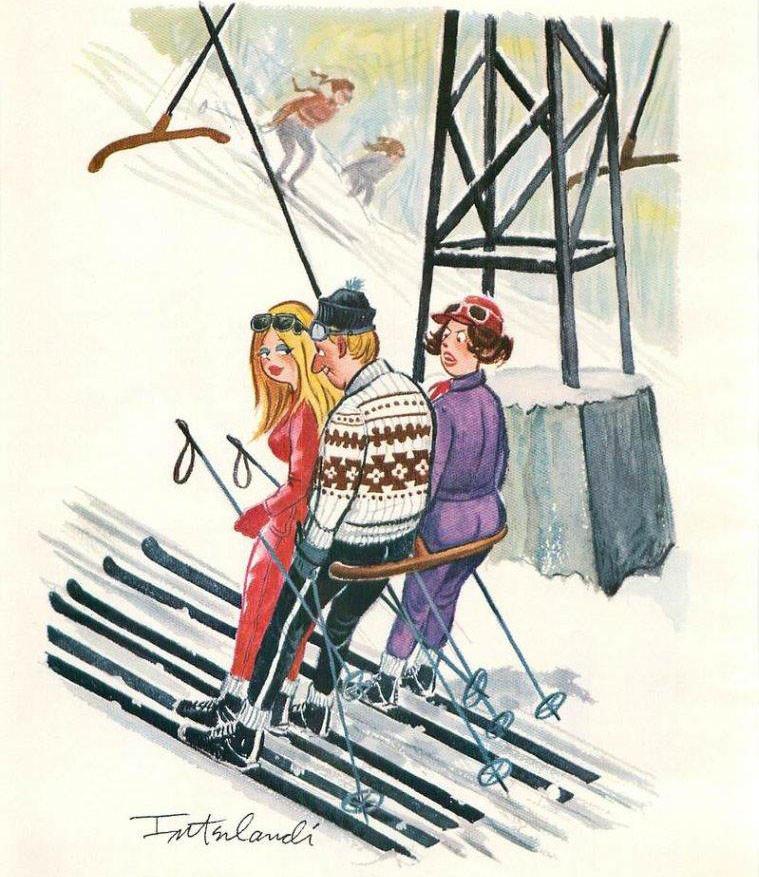 Наталью днем, открытки с лыжами