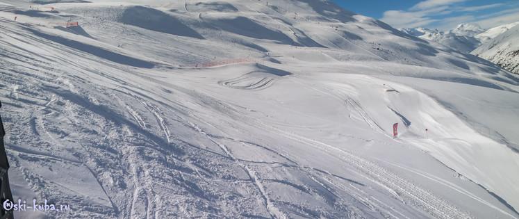 Трасса ски-бордеркросса