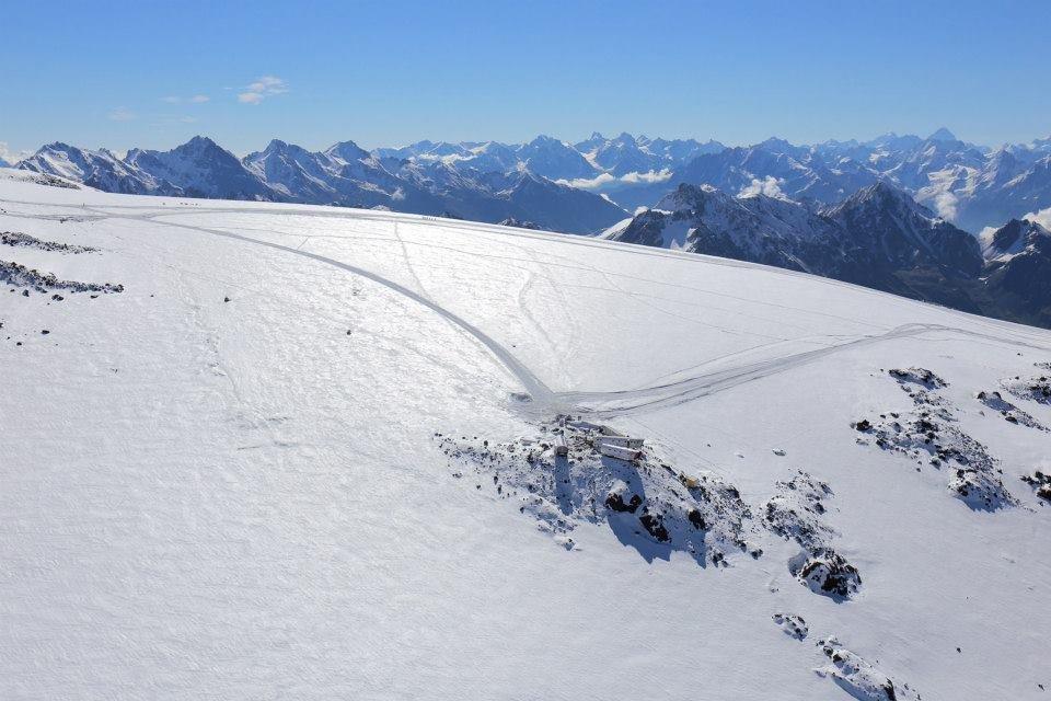 Южный склон Эльбруса.