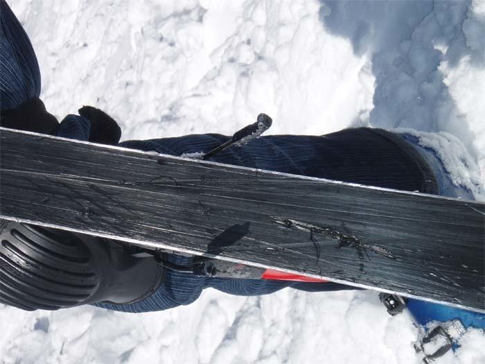 Сноуборд ремонт скользяка своими руками