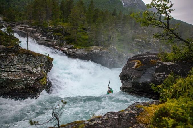 Норвегия. Река Rauma. Райдер - Алексей Лукин. Фото - Константин Галат