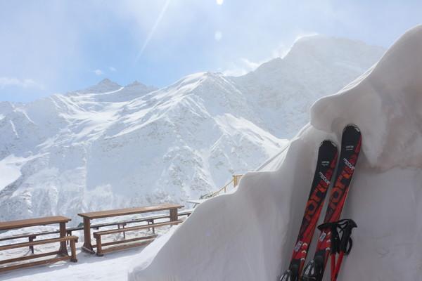 Лыжи у печки стоят (до следующего сезона)