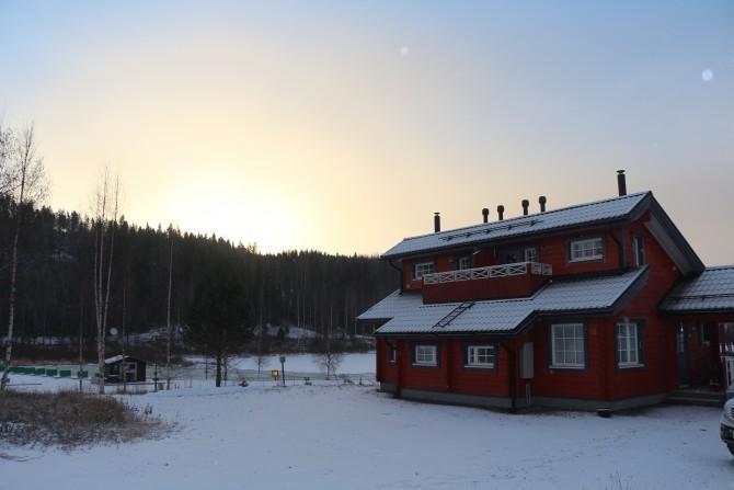 Финское утро