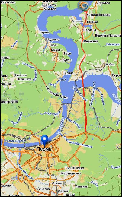 мыс стрелка на карте пермского края кулинарные фото