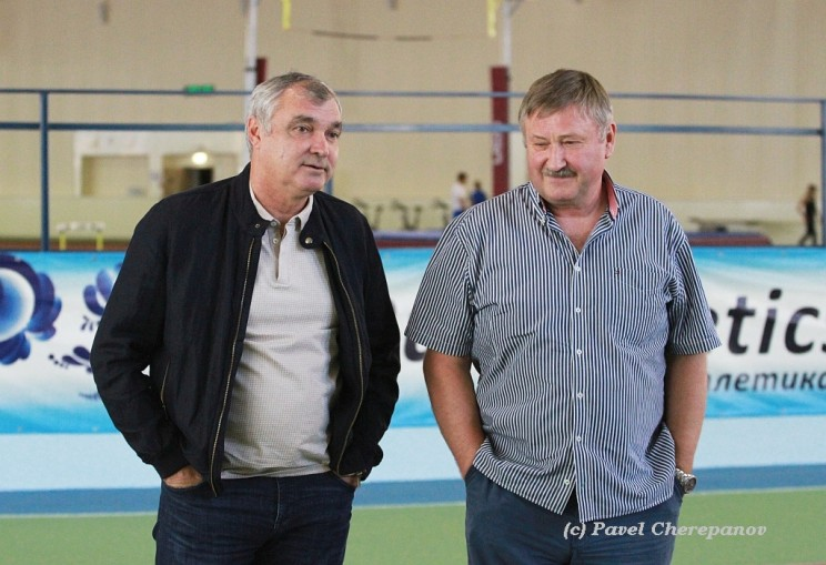 Леонид Мельников и Валерий Цыганов