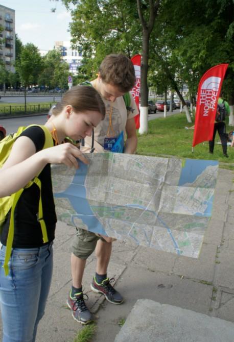 Action Points в Санкт-Петербурге. Выход на маршрут