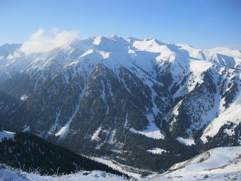 горы фото киргизии