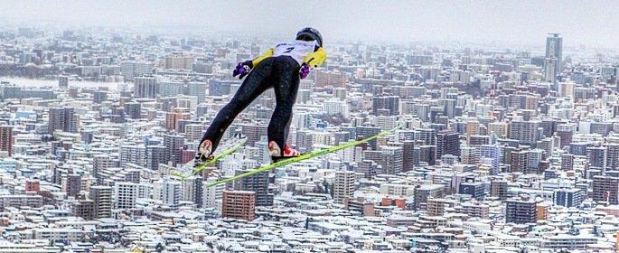 прыжки на лыыжах