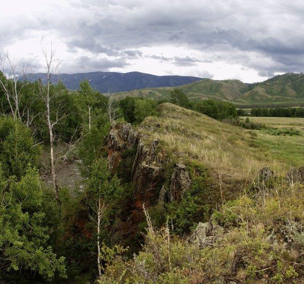 В долине р.Курчум.