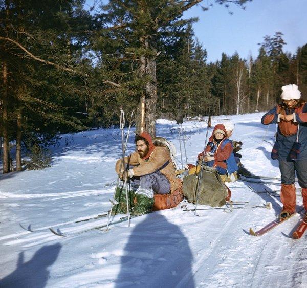 Южный Урал. Привал. 1984 г.