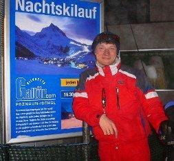 я горнолыжный инструктор в Австрии